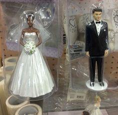 Yep. Wedding topper