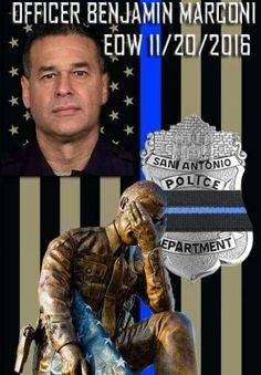 November 2016 San Antonio TX police officer assassinated as he sat in his squad car writing a traffic ticket. He was killed just because he was a police officer. Thank you for your service, there are still MANY of us that respect & appreciate your sacrifice & those of your loved ones. #BLUE lives MATTER