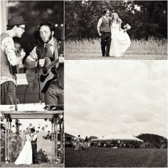 Vintage Outdoor Wedding