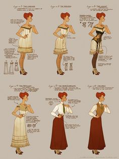 Vintage ♥ : Layering in the Edwardian Era. Via