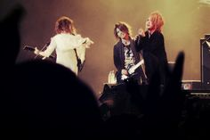 Uruha. Aoi. Ruki. The GazettE.