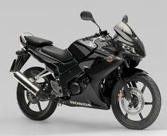 Honda CBR 125 Full Black Sportbike Motorcycle