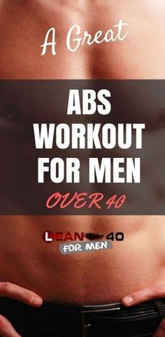 Abs Over 40 Workout Routine