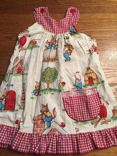 Three Little Pigs Big Bad Wolf Toddler Girls Size 2T Dress Worn 1 Time   eBay