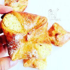 Paladares {Sabores de nati }: Pastelitos daneses de queso - [Reto Reposteras por Europa - Dinamarca]