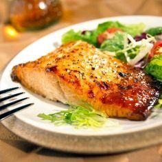 Gordon Ramsey Grilled Marinated Salmon