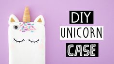 DIY VIRAL UNICORN PHONE CASE!
