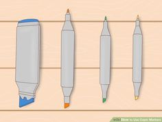 4 Ways to Use Copic Markers - wikiHow