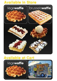 Wannawafel Cart - Snack or dessert? Open Daily 10am-5pm