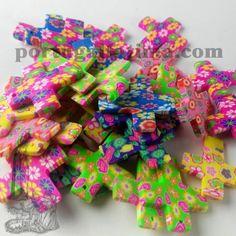 Silk Thread, Colorful, Balls, Fimo