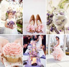 Light Purple Wedding Shoes Blush and lavender wedding