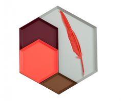 Weidesign - Woonaccessoires - Hay Kaleido XL schaal, Grijs
