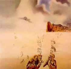 1937 Salvador Dali - Perspektywy