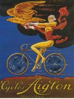 Bicycle Bike Cycles Iowa Sport Travel  Vintage Poster Repro FREE S//H in USA
