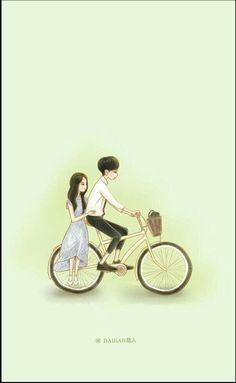 59 ideas for wall paper blue sweets Love Cartoon Couple, Cute Love Cartoons, Anime Love Couple, Cute Anime Couples, Cute Love Wallpapers, Cute Couple Wallpaper, Cute Cartoon Wallpapers, Cute Couple Drawings, Cute Couple Art