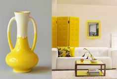splash of yellow around the house
