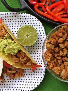 Vegans and Carnivores Unite - Seitan Tacos!