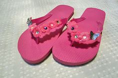 DIY Embellished Flip Flops : Factory Direct Craft Blog