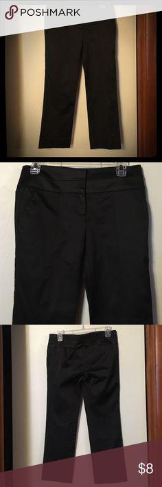Black dress pants size 0 measurements