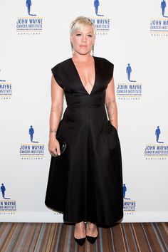 Pink Responds to Comments About Weight Gain | POPSUGAR Fitness. She's my personal hero. I think she looks GREAT!