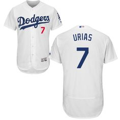 Dodgers #7 Julio Urias White Flexbase Authentic Collection Stitched MLB Jersey