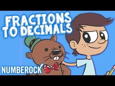 Converting Fractions to Decimals Song For Kids | 5th Grade - 6th Grade - YouTube
