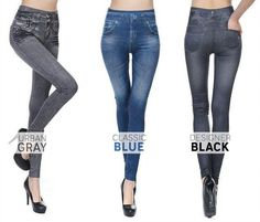 Wearing jean leggings The jean leggings are very commonly used in current times. Yoga Leggings, Jeans Leggings, Jeggings, Shorts, Flatten Tummy, Comfortable Jeans, Comfy, Slim Jeans, Women's Jeans
