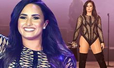 She's never been shy when it comes to her performance ensembles. And it seems nothing has changed with Demi Lovato, as she donned an outrageous sheer and