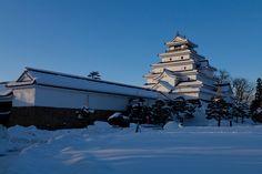 Aizuwakamatsu Castle, Fukushima Prefecture, Japan - built in 1384