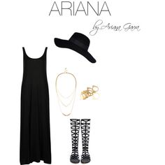 """ARIANA"" by gavraariana on Polyvore"
