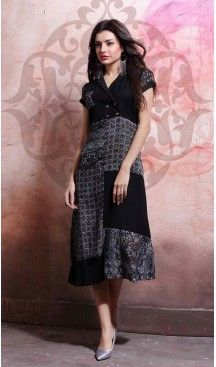 Party Wear Straight Cotton Readymade Tops in Black Color | FH525779539 #kurtis , #kurtas , #tunic , #top , #fashion , #clothing , #women , #heenastyle , #ladies , @heenastyle  , #teenagers , #girls , #style , #mode , #mehendi , #diwali #utsavfashion , #fashion , #boutique , #online , #colors , #dresses , #christmas , #party , #dresses , #shopping , #sequin , #peplum , #xmas , #outfit , #black , #red , #colors , #collection , #novelty , #print, #themed , #2016 , #stunning , #swing