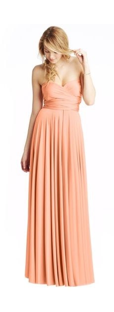 Twobirds Bridesmaid | Classic.  Love this color. Peach