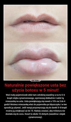 wez maly pojemniczek wloz tam odrobine wazeliny a na to 5 6 kropli olejku Beauty Care, Diy Beauty, Beauty Makeup, Beauty Hacks, Face Care, Skin Care, Body Care, Homemade Cosmetics, Natural Cosmetics