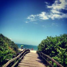 Praia de Jurerê Internacional em Florianópolis, SC