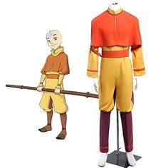 The Last Airbender Fall Sokka Cosplay Costume /& Avatar