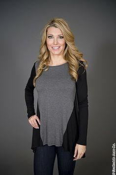 Crystal Wearables Long Sleeve Top $58.00 #scottsdalejeanco #sjc #springfashion #crystalwearables