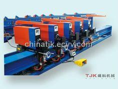 Five Header Vertical Rebar Bender Machine / Milling Machine (TJK Five header vertical rebar bender machine) - China Bender Machine;CNC Ve...