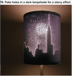 Cool DIY Lamp Shade.