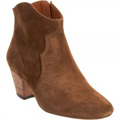 Isabel Marant Dicker Suede Ankle Boots Brown 2012  $199.00