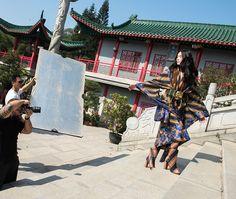 A @lancaperfume escolheu Hong Kong na China como cenário de sua nova campanha! Quem veste a coleção inspirada na deusa Xi Wang Mu é a top chinesa Tong Zhang fotografada por @tavinhocosta e com beleza de Jamie Smith. Acima você confere um clique exclusivo do making-of direto do Templo Wun Chuen Sin Koon. #LOFFama  via L'OFFICIEL BRASIL MAGAZINE INSTAGRAM - Fashion Campaigns  Haute Couture  Advertising  Editorial Photography  Magazine Cover Designs  Supermodels  Runway Models