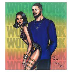 https://flic.kr/p/Ey1xKE | Rihanna ft Drake 'Work' by Hayden Williams | Work, work, work, work, work, work ...