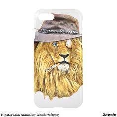 Hipster Lion Animal