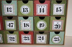 Christmas Advent Calendar Kit and Workshop