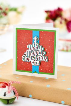 Create a merry Christmas card. Find out how in the December issue of Crafts Beautiful, on sale 9th November.