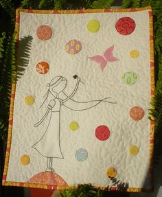 I love this beautifully designed and expertly created quilt. Quilting Projects, Quilting Designs, Sewing Projects, Quilting Ideas, Sewing Ideas, Craft Projects, Girls Quilts, Baby Quilts, Children's Quilts
