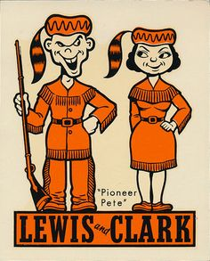 Sports Team Logos, Sports Art, Lewis And Clark College, Vintage Space, Vintage School, Graphic Patterns, Vintage Designs, Vintage Logos, Logo Branding