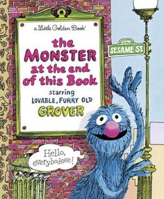 Monster At The End Of This Book - Little Golden Book