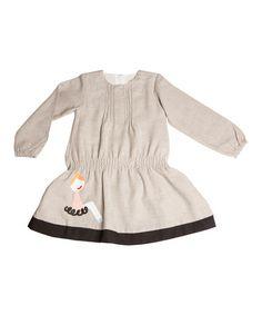 Another great find on #zulily! Gray & Black Dancer Dress - Infant, Toddler & Girls by Lourdes #zulilyfinds
