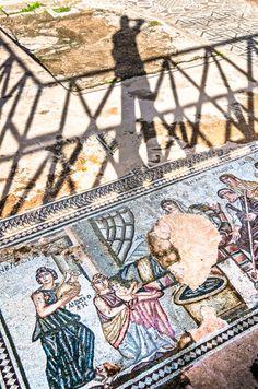 at Kato Paphos Archaeological Park - Ancient Rome, Ancient Art, Kato Paphos, South Cyprus, Cyprus Paphos, Cyprus Island, Cyprus Holiday, Sri Lanka, English Castles