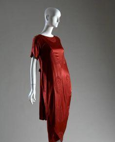 Afternoon dress, ca. 1917. Silk jacquard. Callot Soeurs, France